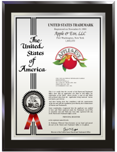Trademark, Copyright, FDA Plaques